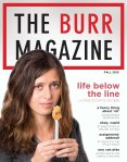 Fall 2015 Burr Cover
